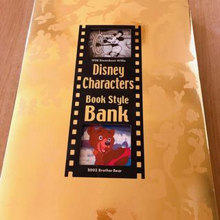 ディズニー book貯金箱