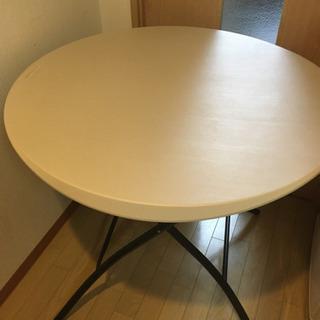 ラウンドテーブル コストコ テーブル