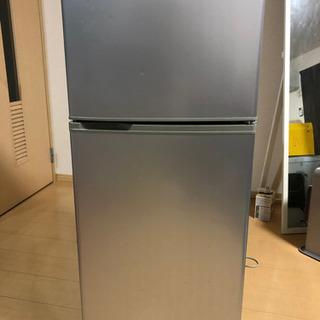2ドア冷蔵庫(1〜2人用)