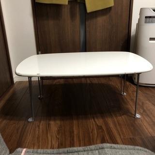 折り畳み式 鏡面テーブル