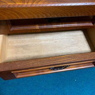 【アンティーク】重厚感のある木製収納家具 - 家具