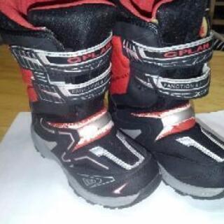 子供用防寒ブーツ 21