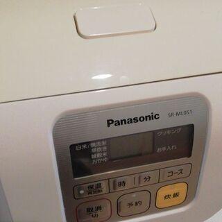 使用頻度 少ない 炊飯器 パナソニック 3合炊き