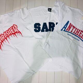【ネット決済・配送可】【THRASHER】他 Tシャツ 3枚セット