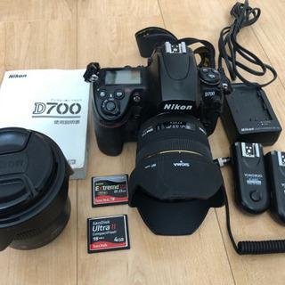 ニコン一眼レフカメラD700一式セット