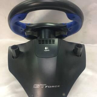 PS2用  レーシングコントローラです 箱付き