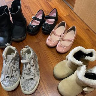 子供靴18センチ靴セット(女の子)