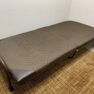 簡易ベッド(新品同様)の画像
