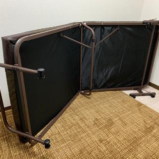 簡易ベッド(新品同様) - 家具