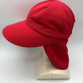 ■日除け赤白帽子■保育園■幼稚園■保育士