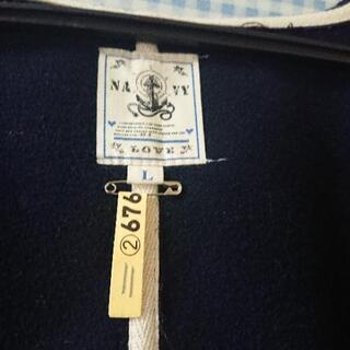中古ダッフルコート紺色Lサイズ − 山口県