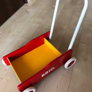 BRIO ブリオ 手押し車 レッド ベビー 歩行器