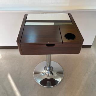 【取引終了】収納付きサイドテーブル