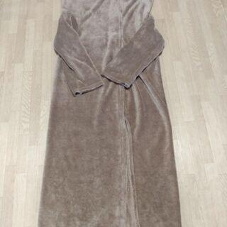 ¥200 ニトリ 着る毛布 かいまき 掻巻 フリース ブランケット