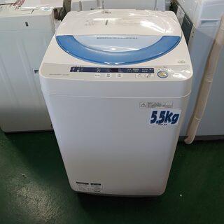 【愛品倶楽部 柏店】5.5kg シャープ 洗濯機 ES-GE55...