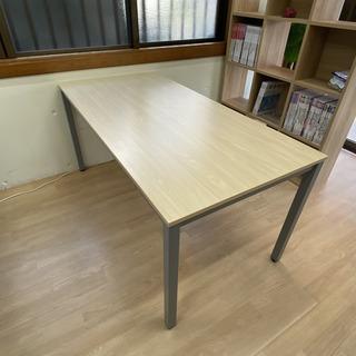 ミーティングテーブル 幅1800×奥行900×高さ700mm ナ...
