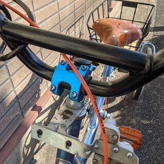 値下げしました。ブリジストン3輪自転車ブルー引取希望