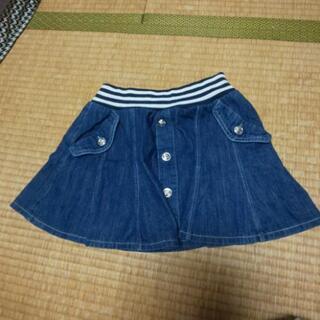 160size女児用スカート