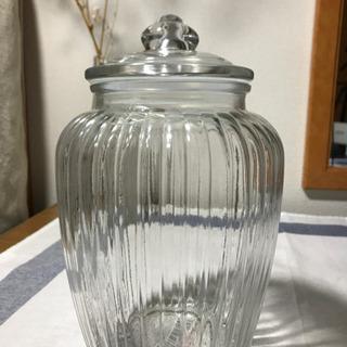 [無料]ガラスクッキージャーGlassCookieJar曲奇玻璃罐