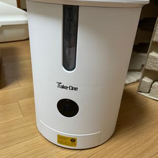 【ネット決済】ネコちゃん、ワンちゃん TAKE-ONE 自動餌やり機