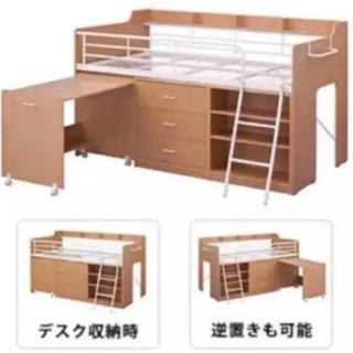 【ネット決済】ニトリ システムベットデスク