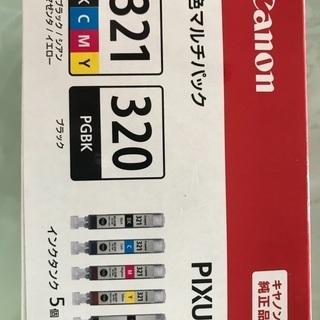 【新品・未使用】canon インクカートリッジ 321 320