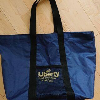 【liberty】大容量ショッピングバッグ