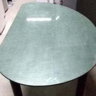 【中古品】楕円形ダイニングテーブル
