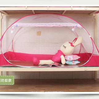 虫除けハウス(蚊帳、テント)  シングルベット用「譲り先決まりました」の画像
