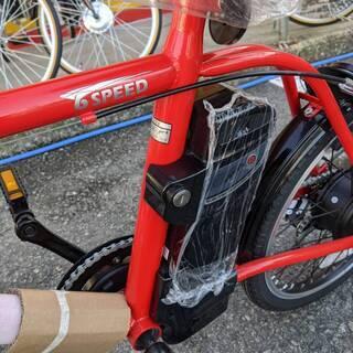 新品未使用 21テクノロジー 20インチ 電動アシスト自転車 0202-02 - 自転車