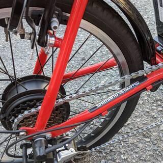 新品未使用 21テクノロジー 20インチ 電動アシスト自転車 0202-02 − 福岡県