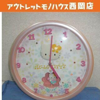 レトロ サンリオ ハローキティ からくり時計 リズム時計 掛時計...