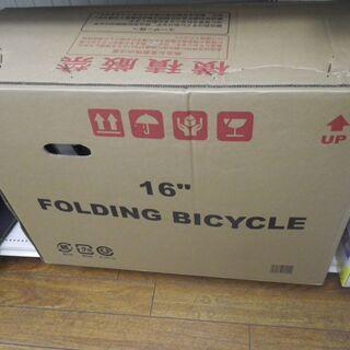 新品未開封 16インチ折りたたみ自転車 SS-H16【モノ…