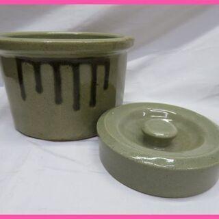 陶器浅漬 漬物の重石と容器のセットをお安くお譲りいたします!