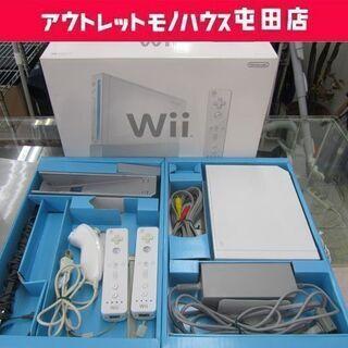 任天堂 wii 本体セット一式 RVL-001 白 リモコン2個...
