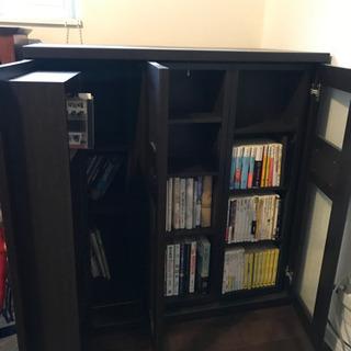 本棚 収納力あり カタログハウス スライド300 - 家具
