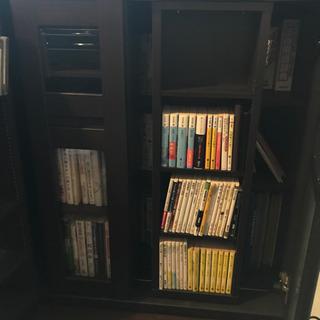 本棚 収納力あり カタログハウス スライド300 - 売ります・あげます