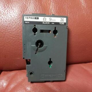 TEPRA<TR>テープカートリッジ白(黒インク) - その他