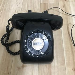 最終値下げ黒電話(ジャンク品)