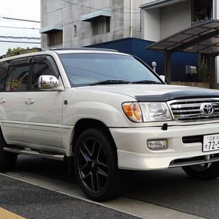 コミコミ『168万円』ランドクルーザー100 ガソリン AT サ...