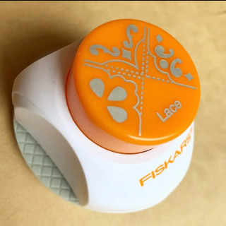 ( フィスカース) コーナーパンチ レース【新品同様】 - 広島市