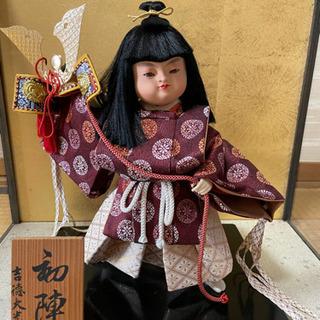 吉徳大光 初陣 五月人形 日本人形 男の子
