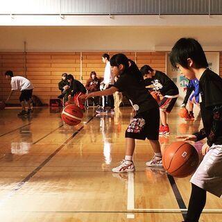 亀岡運動公園体育館 子どもバスケットボール教室