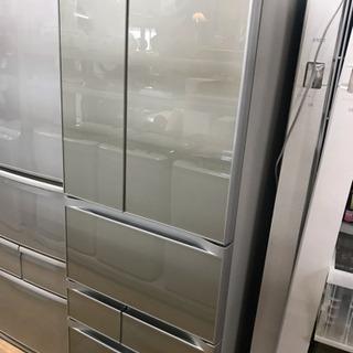 【ネット決済】東芝 6ドア冷蔵庫 556L 2014年製 中古