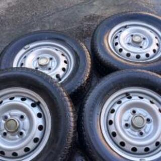 145R12 6PR ホイール付きタイヤセット