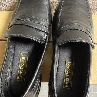 メンズ ローファー 靴 26.5cm 黒 ブラック