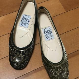 【値下げしました】エスニックな感じの靴*試し履きのみ*351/2...