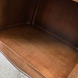 高級 クラシック 電話台 TEL台 インテリア 猫脚 木製 約42.5×30.5×73cm 【自社配送は札幌市内限定】倉庫保管 − 北海道