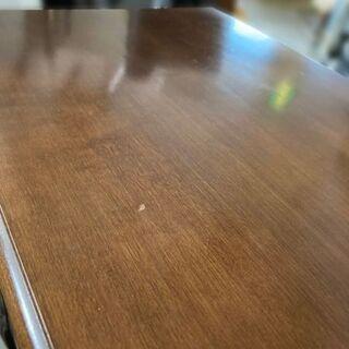 高級 クラシック 電話台 TEL台 インテリア 猫脚 木製 約42.5×30.5×73cm 【自社配送は札幌市内限定】倉庫保管 - 札幌市