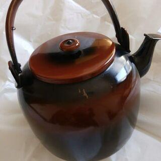 茶道具‐水次薬缶